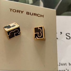 Tory Burch Enamel Plating Earrings